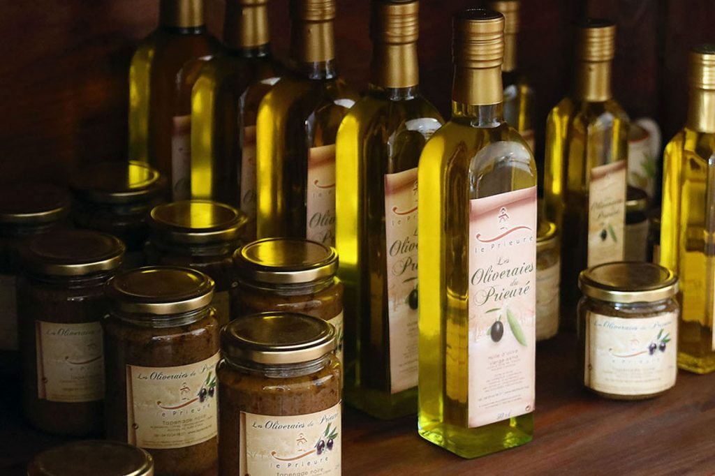 Huiles d'olive Le Prieuré