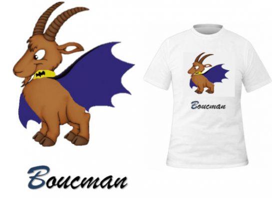 T-shirt Boucman