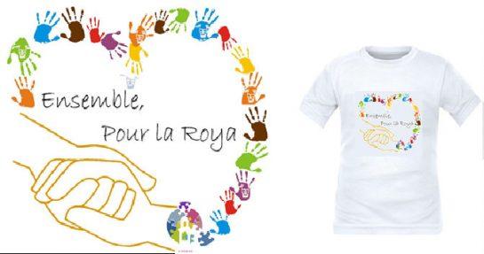 T-shirt Ensemble pour la Roya