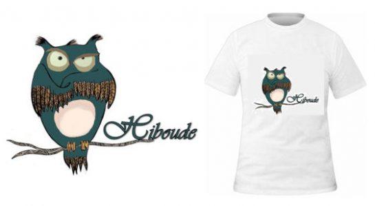 T-shirt Hiboude