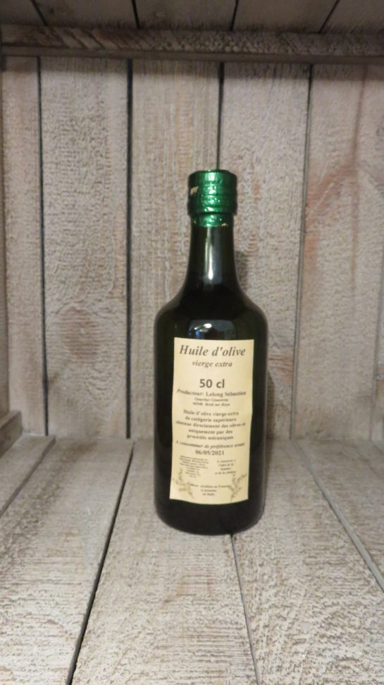 huile 50 cl Breil sur roya