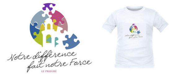 T-shirt Notre différence fait notre force