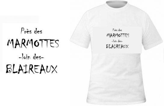 T-shirt Près des marmottes